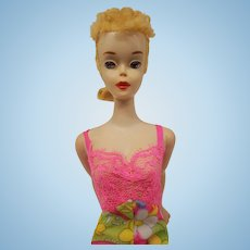 Vintage #3 blonde ponytail Barbie doll