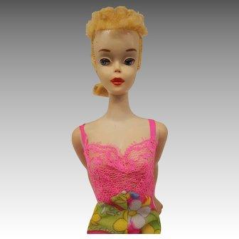 Vintage #3 blonde ponytail Barbie doll