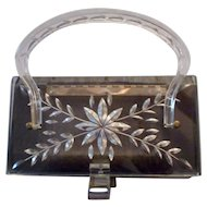 Vintage Lucite Box Purse from the Charles S. Kahn, Inc. Line