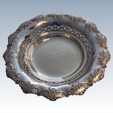 Silver Fruit Bowl- Sheffield 1910.