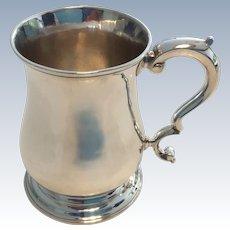 Silver Half Pint Mug by Fuller White.