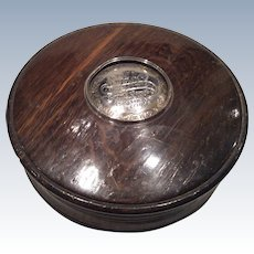 1814 London snuff/tobacco box.