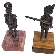 A pair of Napolionic soldiers 1950/70.