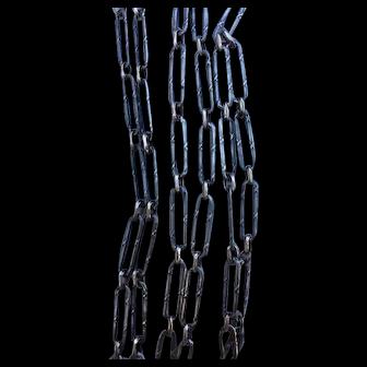 Antique 800-900 silver chain