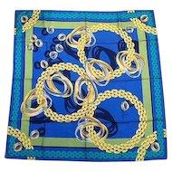 vintage CARTIER trinity silk scarf
