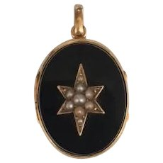 19th Century French locket/ pendant