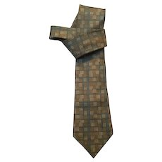 French Vintage Hermes silk Tie 932 IA