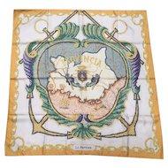 "Hermes silk Scarf  ""La Provence"""