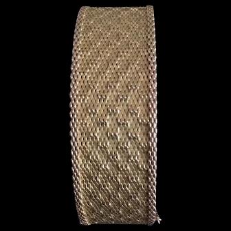 Large gold filled FIX bracelet