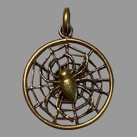 French 18 K gold filled FIX Spider
