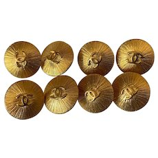 vintage Chanel buttons 17 mm