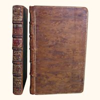 Virgil & Horace bound alike, Sandby 1750 & 1749 Four Volumes