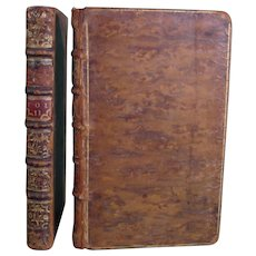 Virgil & Horace bound alike, Sandby 1750 & 1749 Four Volumes