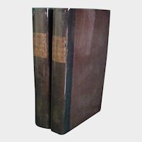 1811 Works of Horace in English Prose, 2 vol., tr. R. Baldwin & others,