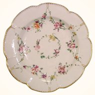 Antique Bristol 18thc. Porcelain Plate from the Frank Arnold Collection c.1775.