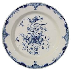 Dr. Wall Worcester Mansfield Pattern Butter Tub Stand c.1765.