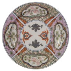 18thc. Derby Plate in Oriental Style