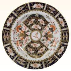 Bloor Derby Plate in Imari Pattern Number 2451, c.1825