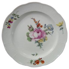 Russian St. Petersburg Plate from a Service for Empress Catherine the Great c.1770.
