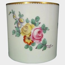 Boisette Canister from a Dresser Set C1780 French Old Paris Antique Porcelain 18th