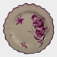 Antique Wedgwood Plates Painted by James Bakewell c.1770