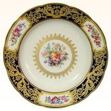 Sevres Soup Plate Dated 1787 Aranda Service