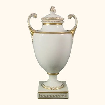 Furstenberg Urn or Vase in Neoclassical Style 20th Century.