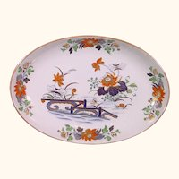 Wedgwood Oval Dish with Imari Pattern c1820.