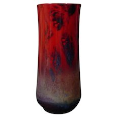 Royal Doulton Vase by Noke with Exceptional Song Glaze