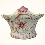 Rare Antique Chelsea Porcelain Rococo Flower Pot or Bough Pot c.1760.