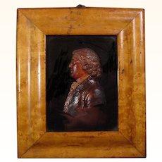 John Flaxman's Wax Portrait of Josiah Wedgwood 18th Century