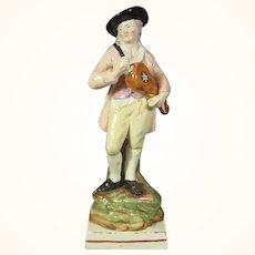 Ralph Wood Figure of a Flemish Musician C.1820.