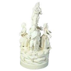 La Courtille Figure Group of Five Musicians C.1775.