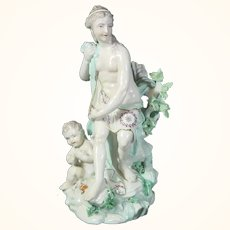 Antique Figure of Venus and Cupid C.1900