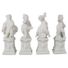 Nymphenburg Figures by Bustelli, Set of the Four Seasons.