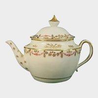 Keeling Factory (Factory X) Teapot C.1800.