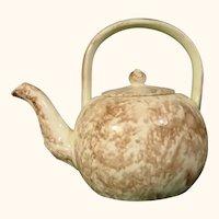 Whieldon Period Creamware Miniature Teapot C.1755