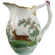 Antique Continental Porcelain Royal Copenhagen 18th Century Milk Jug or Creamer c.1770.
