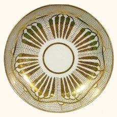 Coalport (Anstice, Horton & Rose) Cup & Saucer with Gilt Designs like a Willow Tree C1810. Antique Porcelain