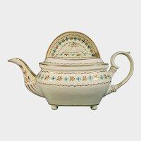 Derby Teapot & Stand, London Shape C.1815.