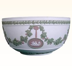 Wedgwood Tricolor Jasperware Bowl C.1800