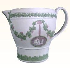Wedgwood Jasperware Tricolor Creamer C.1800.