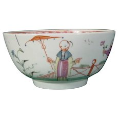New Hall Bowl from a Tea Set in Pattern 20 c.1785.