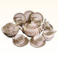 C.1805 Chamberlain Worcester Tea Service