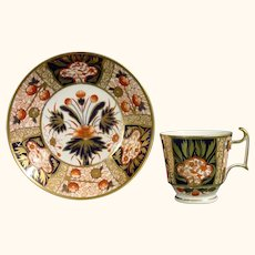 Antique Spode Imari Cup & Saucer Pattern 1409 C.1825.