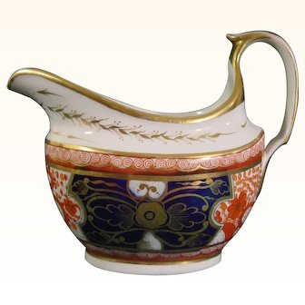 Spode Dollar Pattern Antique Porcelain Creamer C.1825