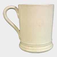 British Miniature or Child's Pearlware Mug C.1785.