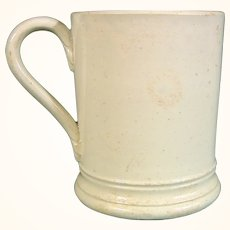 British Miniature or Child's Pearlware Mug C.1785.
