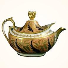Barr, Flight, Barr Worcester Teapot C1815.