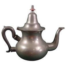 Pewter Teapot C1850
